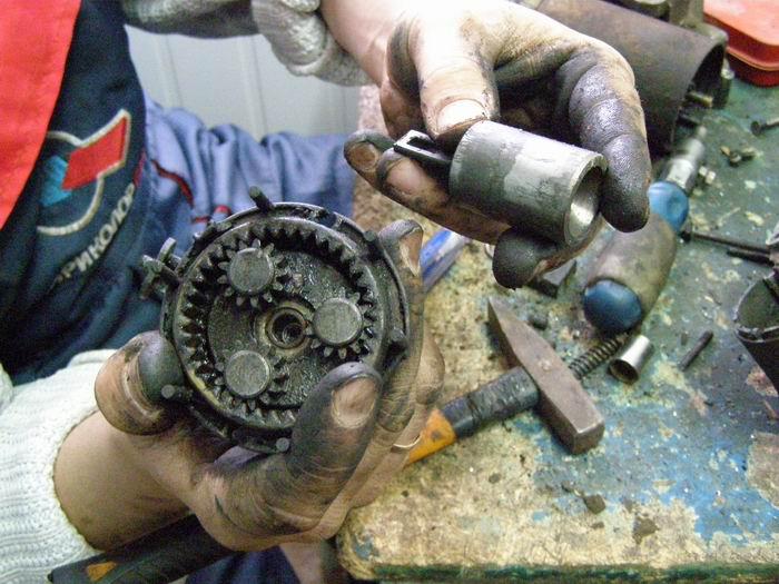 ремонт стартера своими руками на ваз 21093