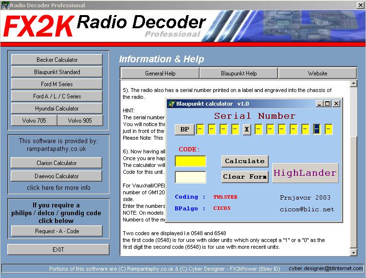 Grundig Serial Number Code Calculator Download
